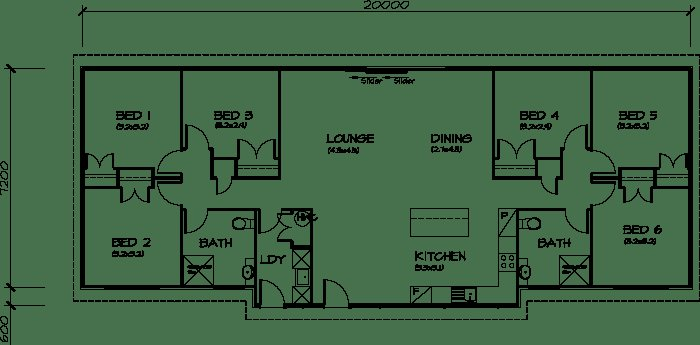 Best 6 Bedroom Transportable Homes Floor Plans With Pictures