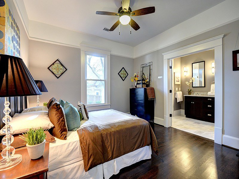 Best Picture Rail Molding Bedroom Traditional With French Doors With Pictures