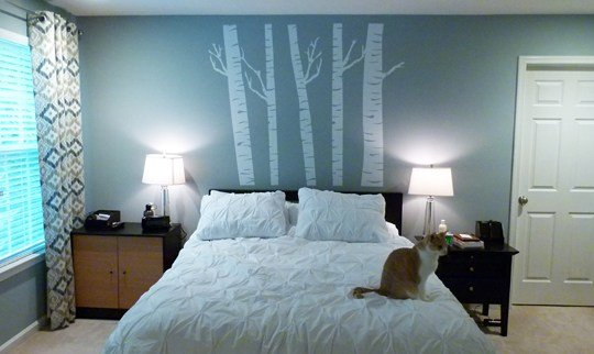 Best Bedroom Wall Decal Decal On Canvas With Pictures