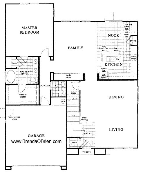 Best Black Horse Ranch Floor Plan Kb Home Model 3589 Downstairs With Pictures