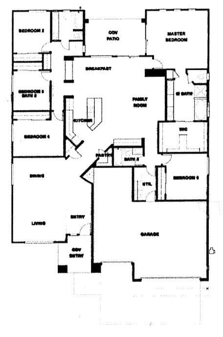 Best Verde Ranch Floor Plan 2780 Model With Pictures