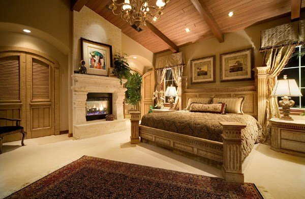 Best 15 Elegant And Inspiring Master Bedroom Fireplace Ideas With Pictures