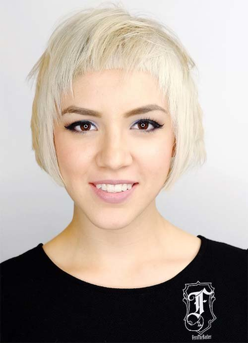 Free 55 Short Hairstyles For Women With Thin Hair Fashionisers Wallpaper