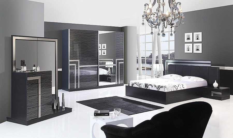 Best Black Bedroom Design Ideas Home Designs Project With Pictures