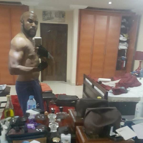 Best Banky W Shows Off His Toned B*D In New Bedroom Selfie With Pictures