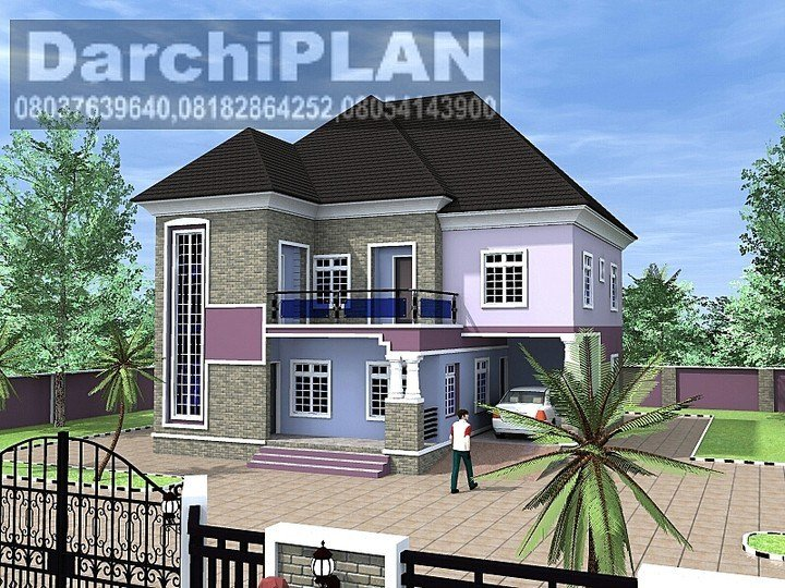 Best Whats D Minimum Cost Of Building A 5 Bedroom Duplex On With Pictures