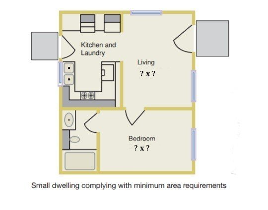 best minimum bedroom size code with pictures  october
