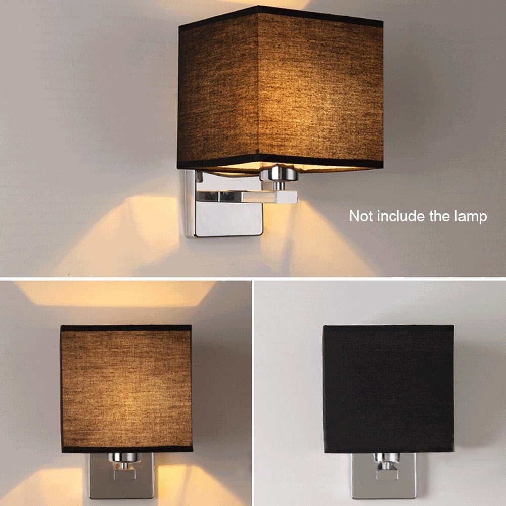 Best Led Cloth Wall Lamp Sconce Light For Hotel Reading Bedroom With Pictures