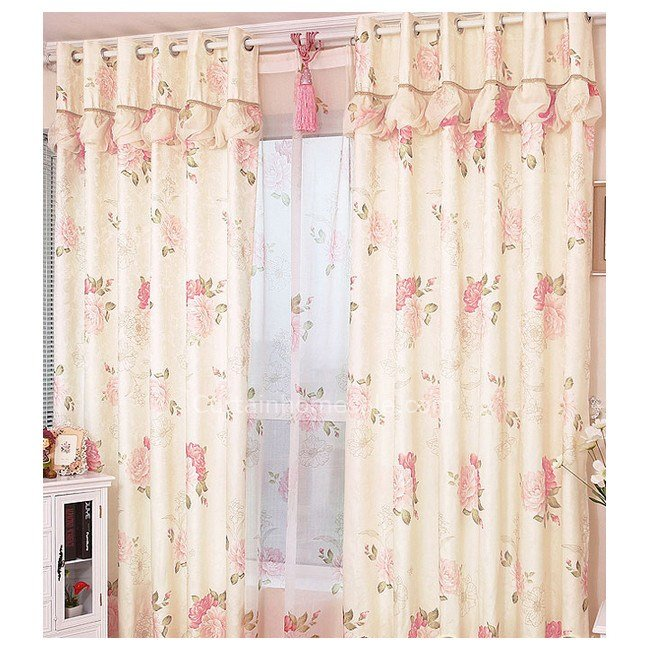 Best Country Floral And Leaf Printing Modern Patterned Curtains For Bedroom With Pictures