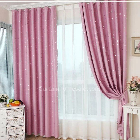 Best Excellent Pink Girls Bedroom Blackout Energy Saving Curtains With Pictures