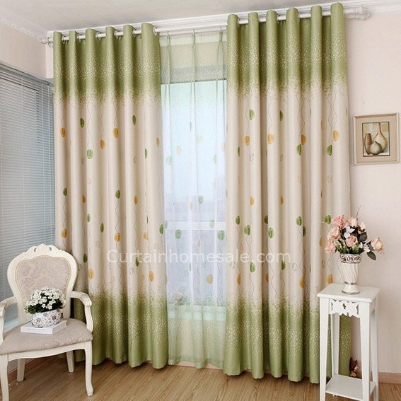 Best Curtains On Sale And Energy Saving Floral Print Casual Girl Bedroom Curtains With Pictures