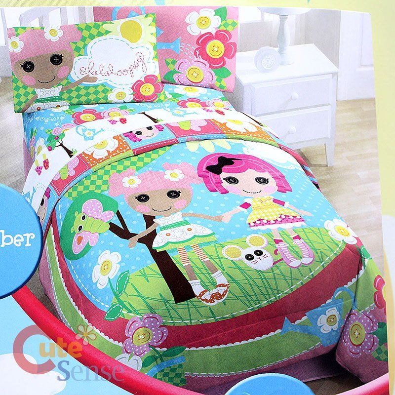 Best Lalaloopsy 4Pc Twin Bedding Comforter With Sheet Set Ebay With Pictures