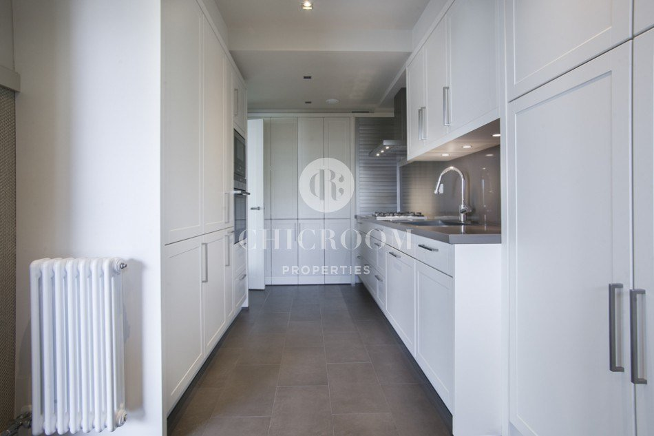 Best 4 Bedroom Apartment For Rent In Sarria With Pool And Garden With Pictures