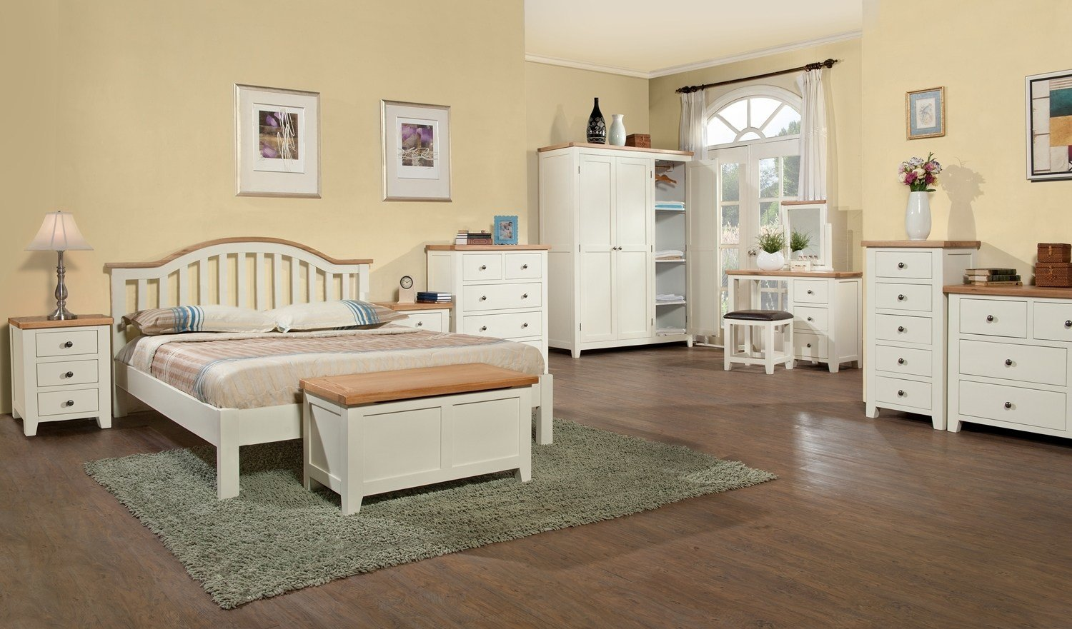Best White Oak Bedroom Furniture Cileather Home Design Ideas With Pictures