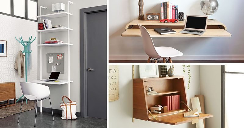 Best 16 Wall Desk Ideas That Are Great For Small Spaces With Pictures