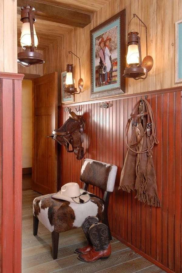 Best Western Home Decorating With Saddles With Pictures