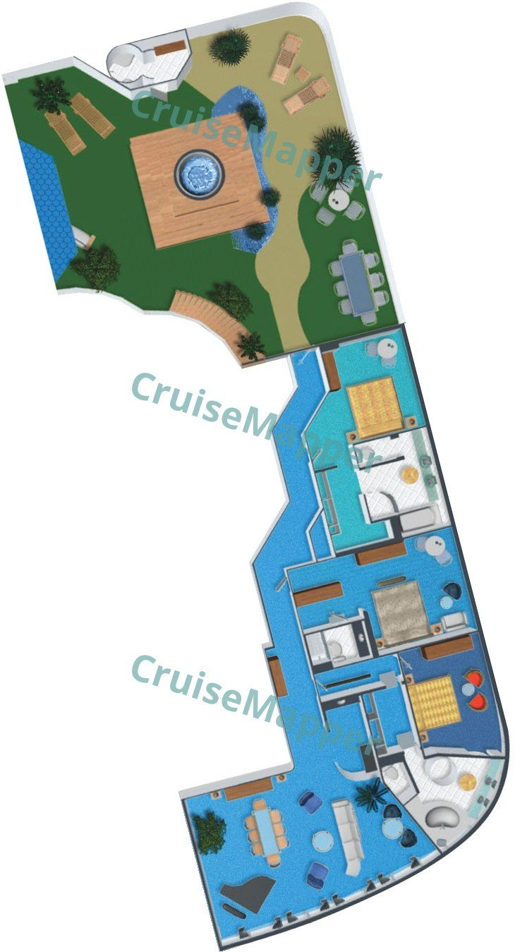 Best Norwegian Dawn Cabins And Suites Cruisemapper With Pictures