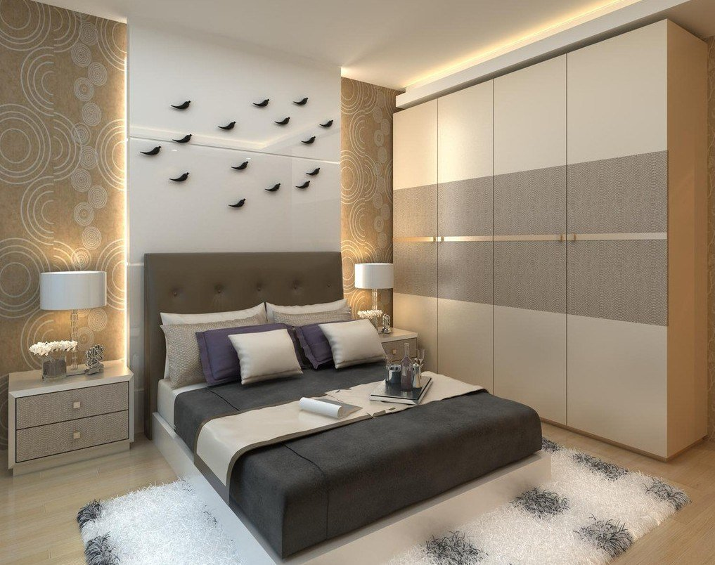Best Modern Bedroom Cupboard Designs Of 2018 Gooqer With Pictures