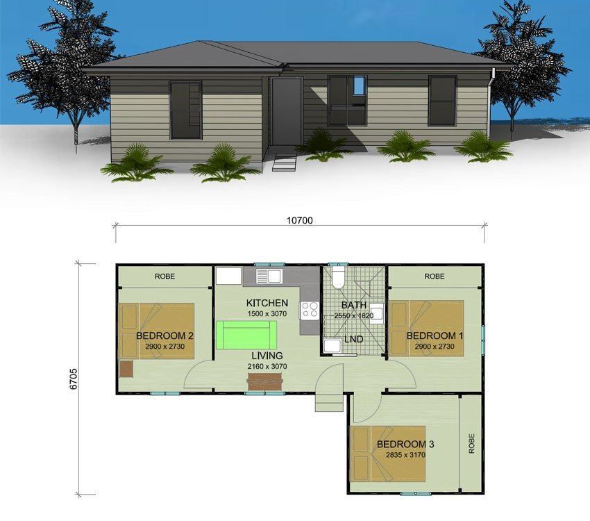 Best Bottlebrush Granny Flat Plans 1 2 And 3 Bedroom Granny With Pictures