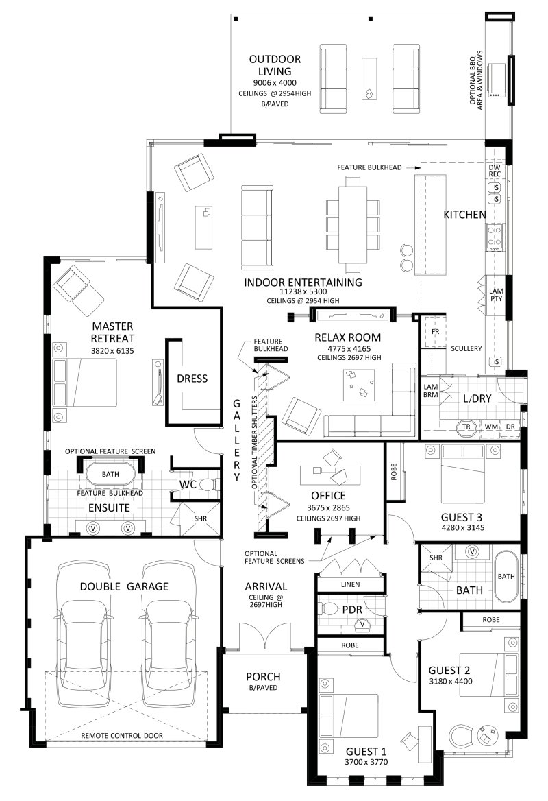 Best Floor Plan Friday Excellent 4 Bedroom Bifolds With With Pictures