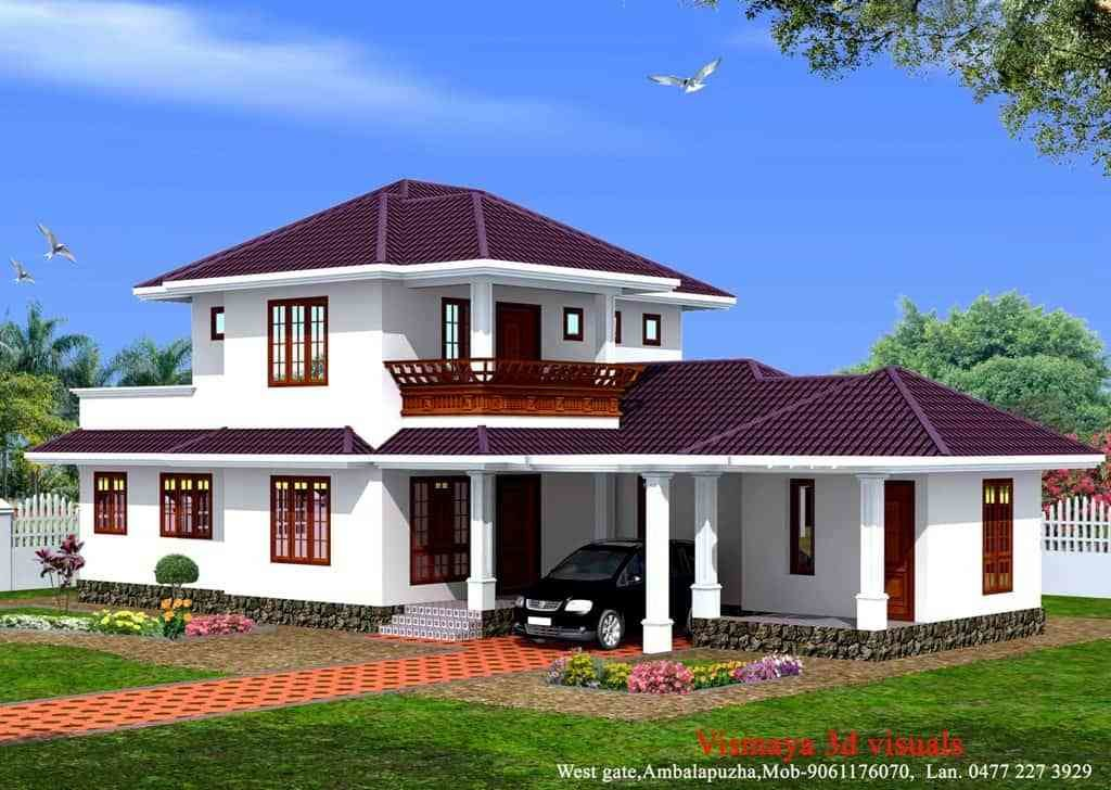 Best 3 Bedroom Kerala Home Design At 1873 Sq Ft With Pictures