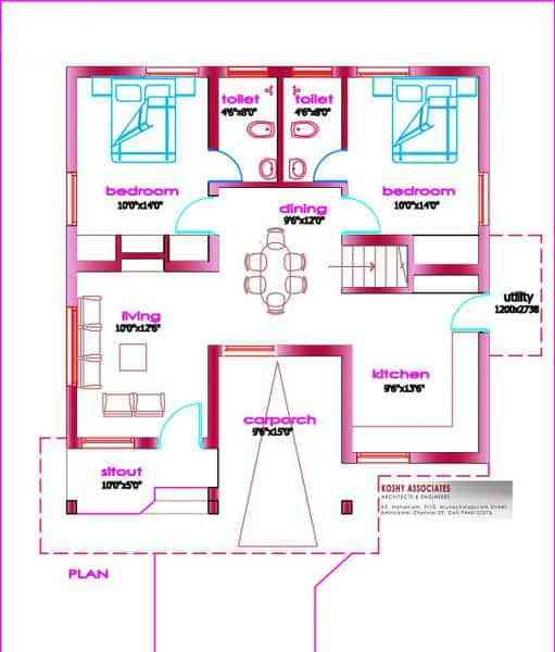 Best Small House Plans In Kerala 3 Bedroom Keralahouseplanner With Pictures