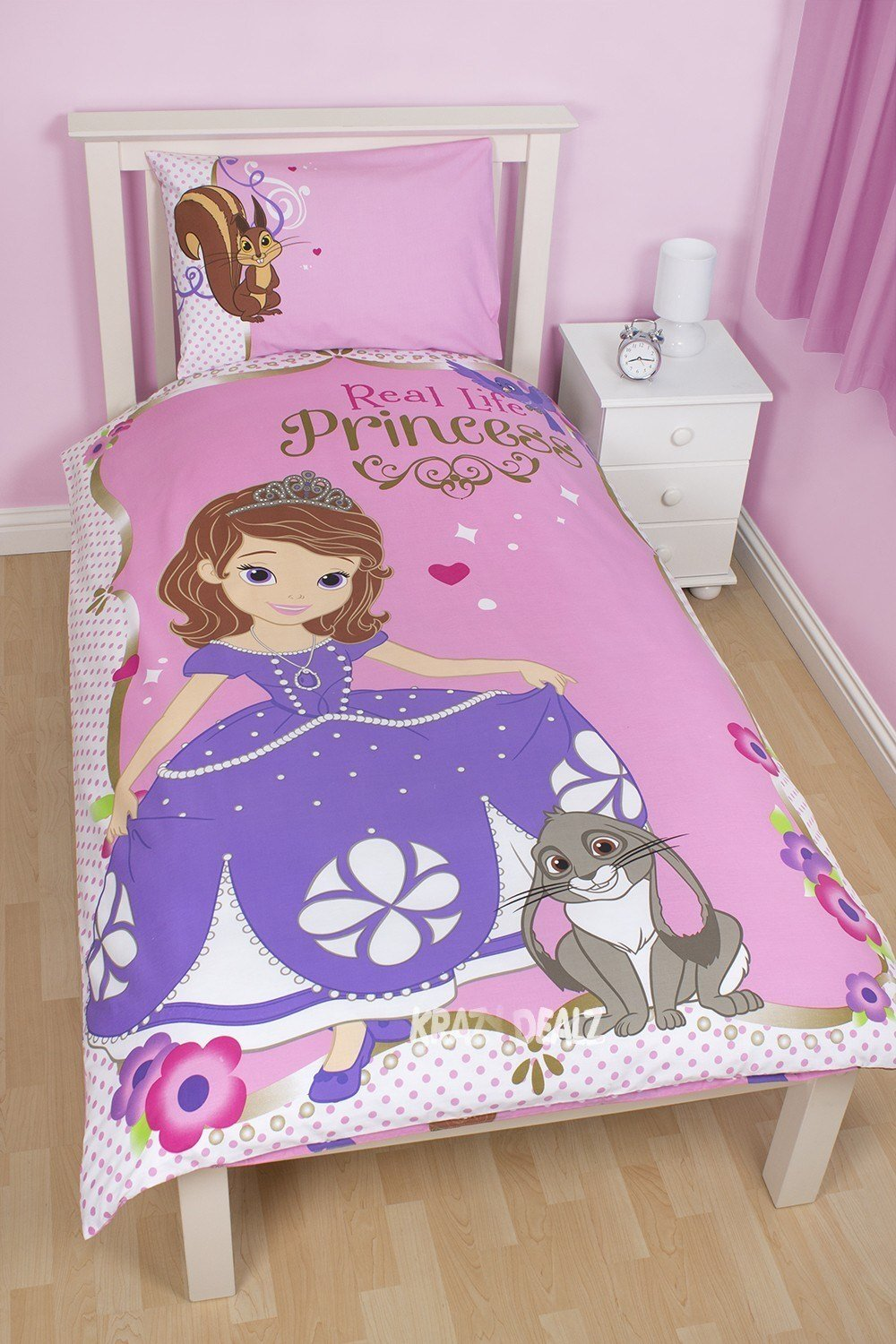 Best Princess Sofia The First Amulet Single Duvet Cover Bed Set With Pictures