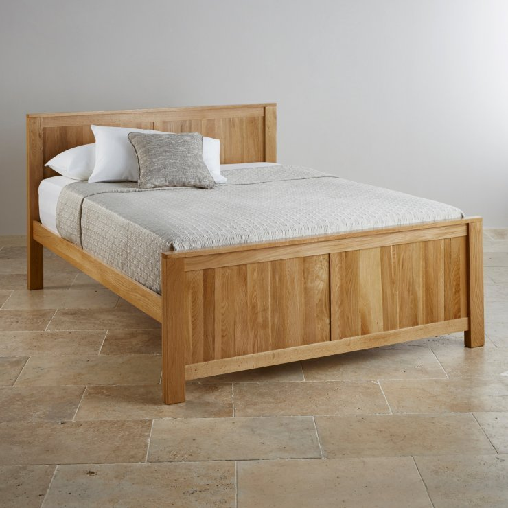 Best Oakdale Solid Oak King Size Bed Bedroom Furniture With Pictures