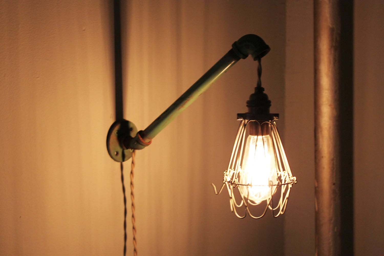 Best Plug In Wall Lamps For Bedroom Best Home Design Ideas With Pictures