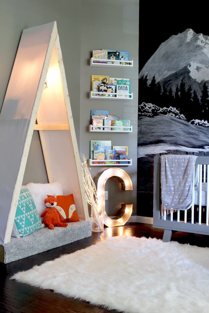 Best Outdoor Themed Nursery Room Tour Gray House Studio With Pictures