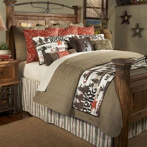 Best Cowboy Rodeo Rustic Bedding Collection Santa Fe Ranch With Pictures