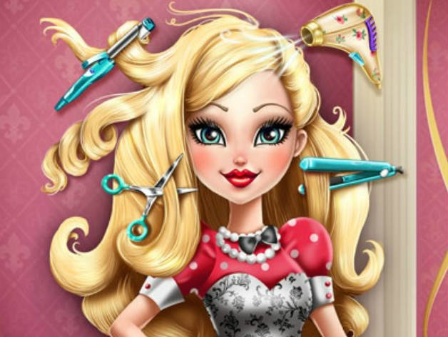 Free Play Apple White Real Haircuts Sisigames Com Wallpaper