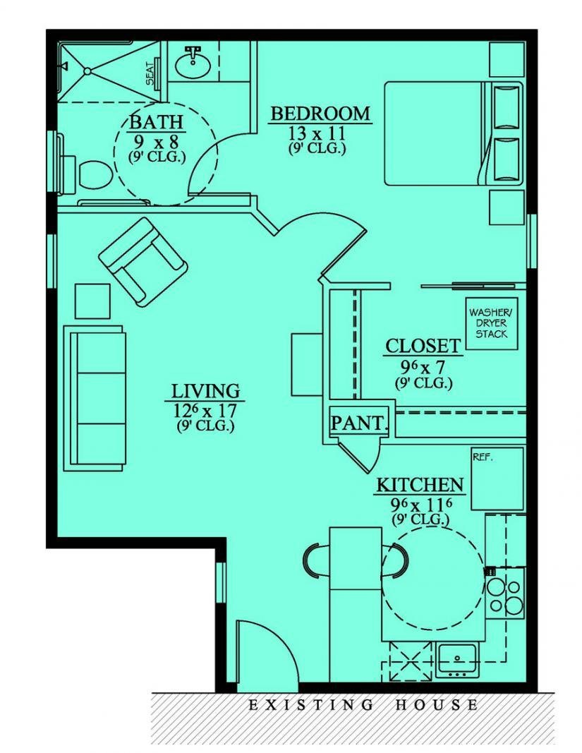 Best Home Plans With Inlaw Suites Smalltowndjs Com With Pictures