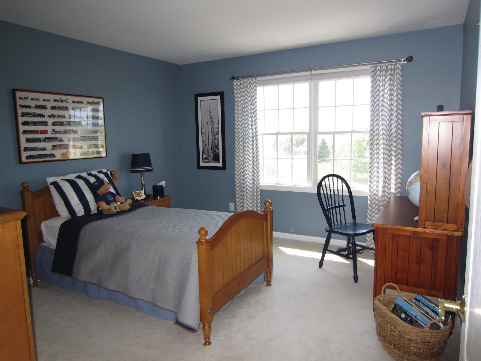Best Dark Blue Country Boys Bedroom 1442 Latest Decoration Ideas With Pictures