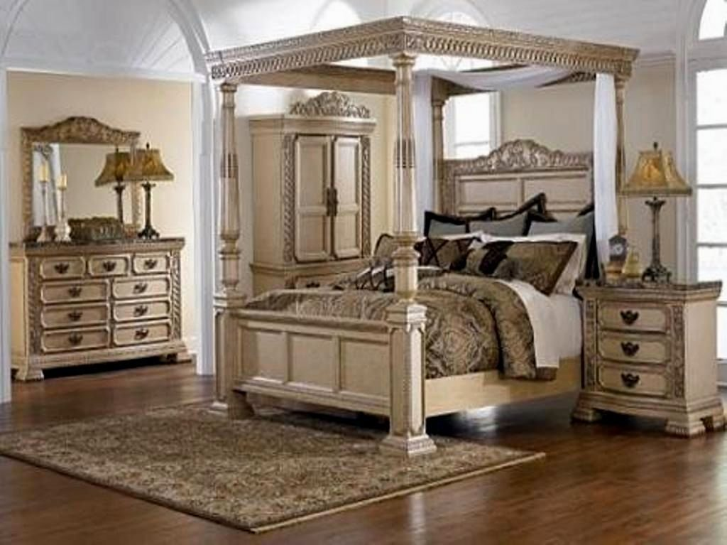 Best Wonderful Girl Canopy Bedroom Sets Photo Bedroom With Pictures