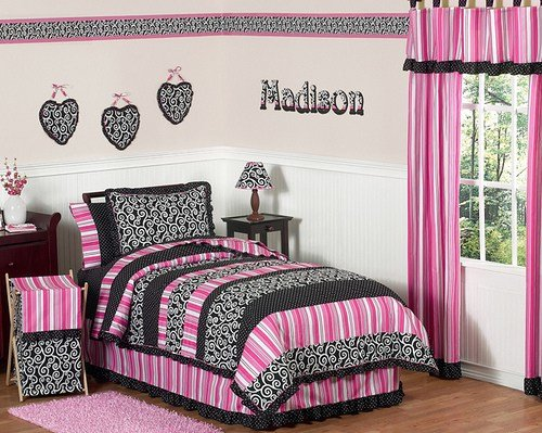 Best Pink And Black Bedrooms 28 Cool Wallpaper With Pictures