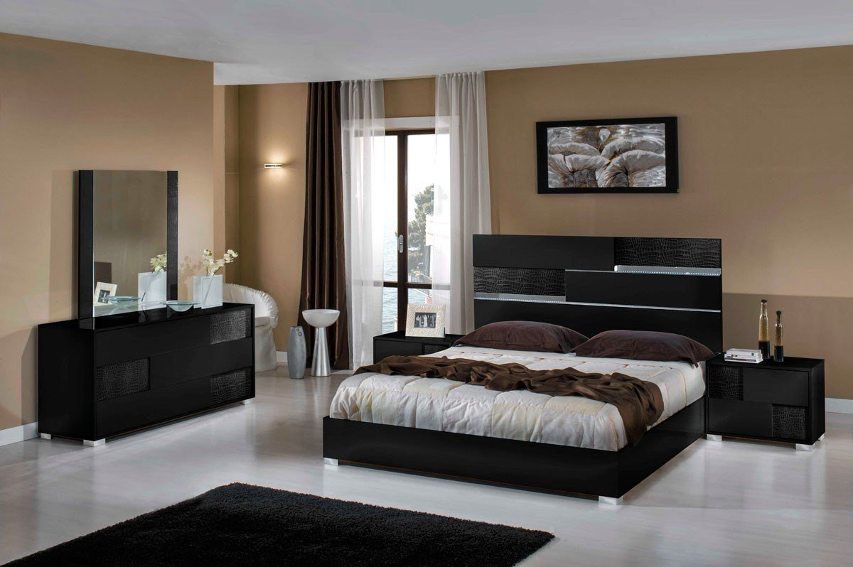 Best Modern Italian Bedroom Furniture Sets Hawk Haven With Pictures