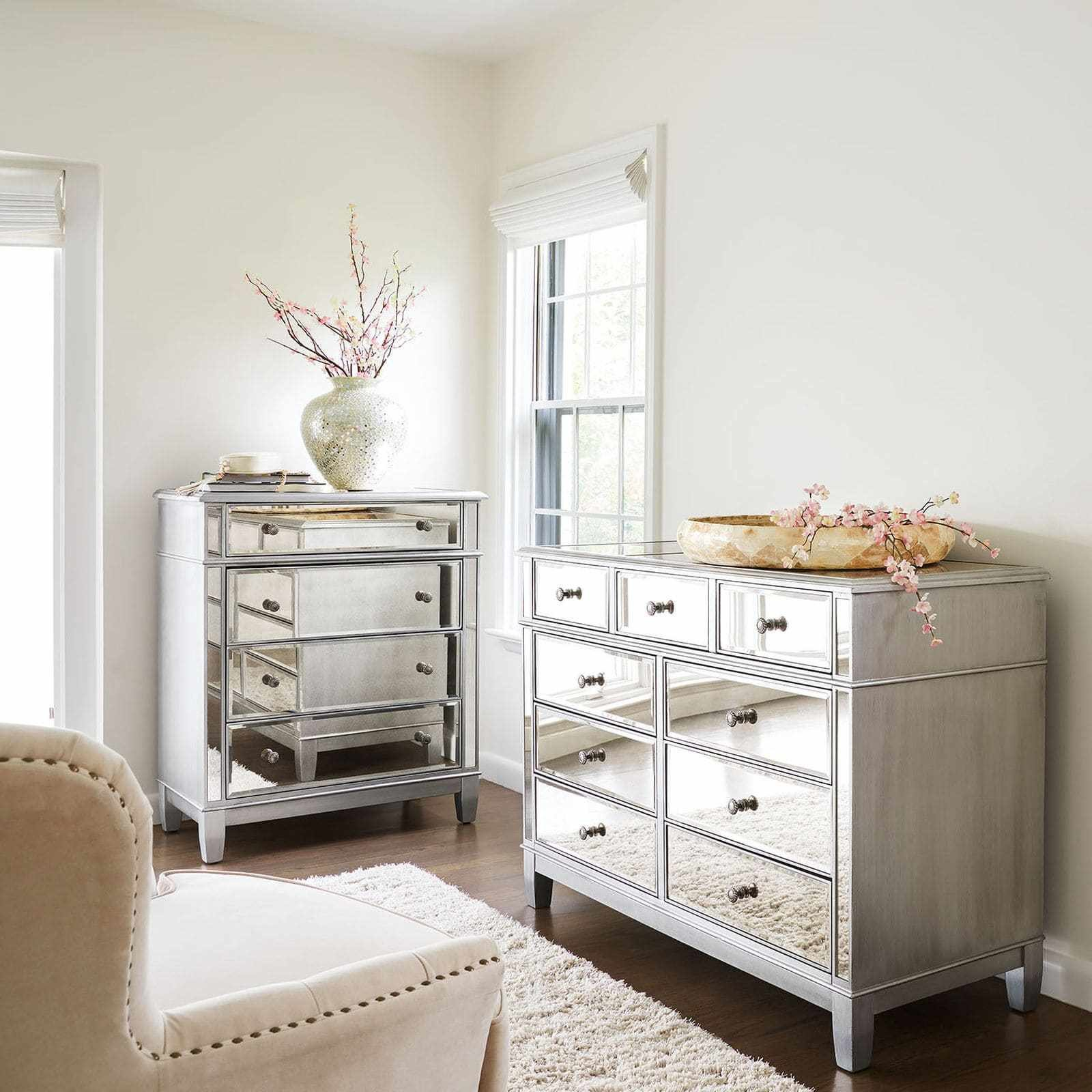 Best Pier 1 Mirrored Bedroom Furniture Hawk Haven With Pictures
