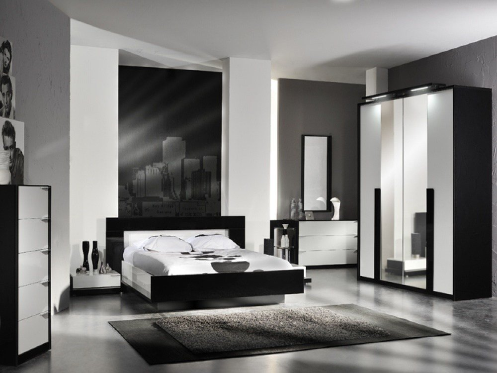 Best Black And White Bedroom Furniture Sets Decor Ideasdecor With Pictures