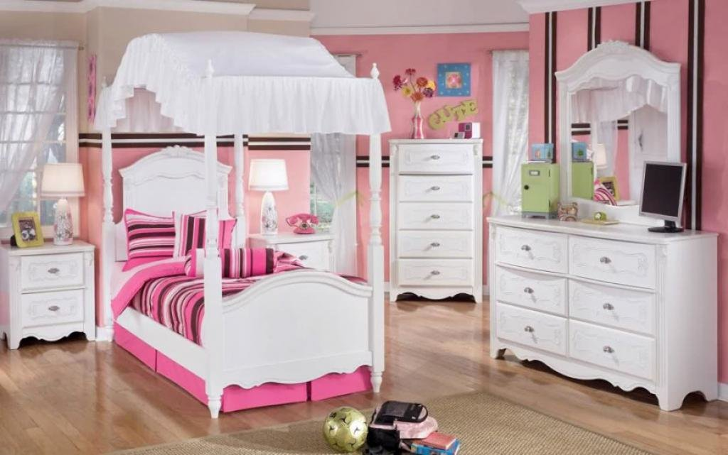 Best Cute Small Canopy Bed White Bedroom Furniture For Girls – Home Inspiring With Pictures