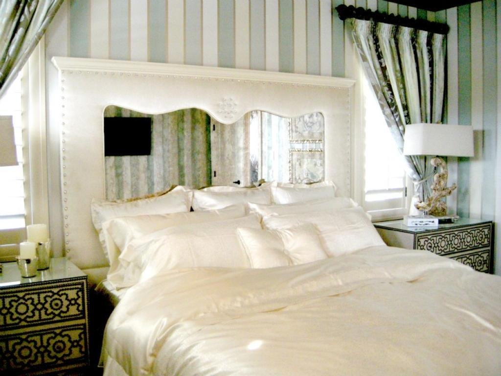 Best Rustic And Beauty Mirrored Headboard Bedroom Set – Home With Pictures
