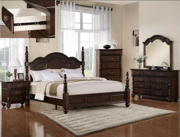Best 5Pc High Or Low Poster Georgia Bedroom Set Ebay With Pictures