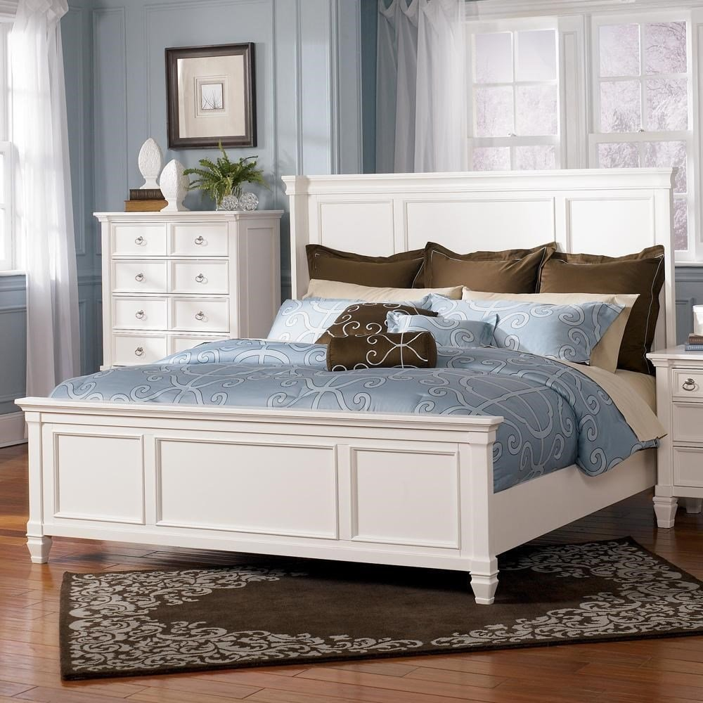 Best Millennium Prentice Queen Size Panel Bed Wayside With Pictures
