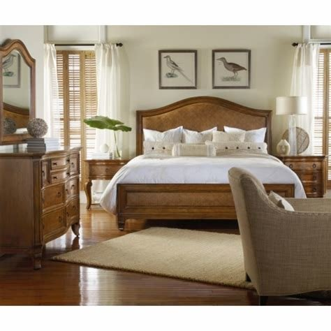 Best H**K*R Furniture Windward Queen Bedroom Group Baer S With Pictures