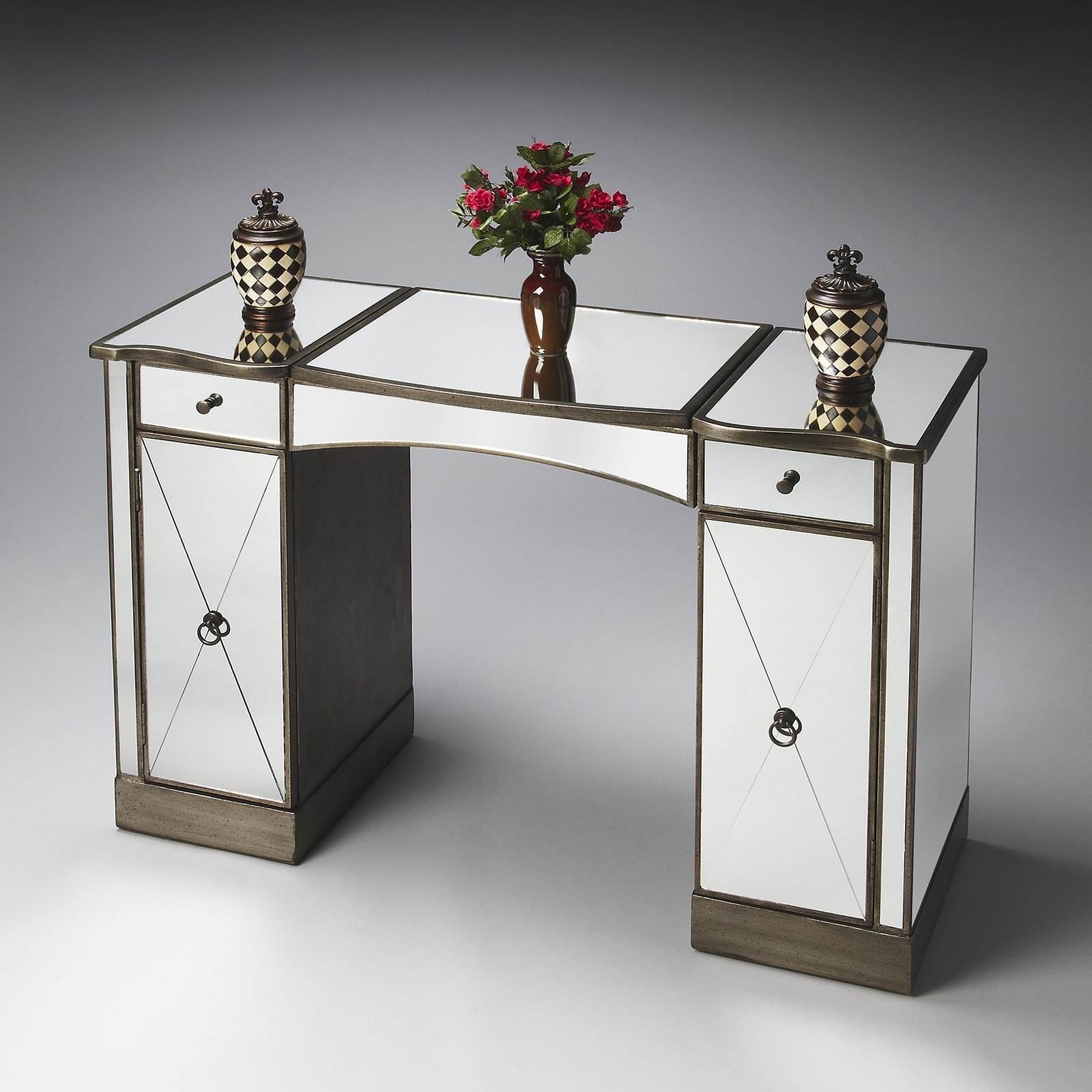 Best Butler Bedroom Vanity Mirror Bedroom Vanities At Hayneedle With Pictures