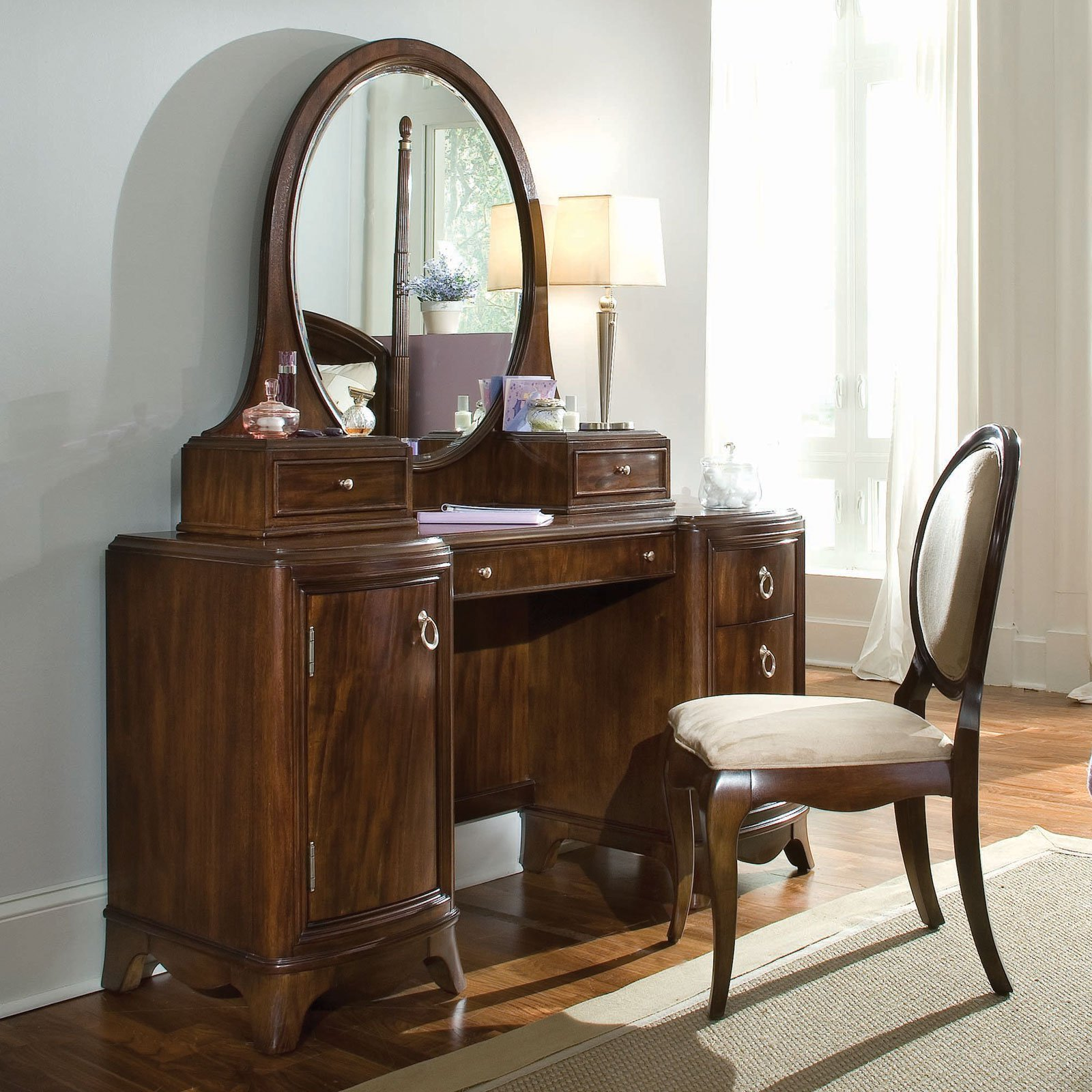 Best Elite Rhapsody Bedroom Vanity Set At Hayneedle With Pictures