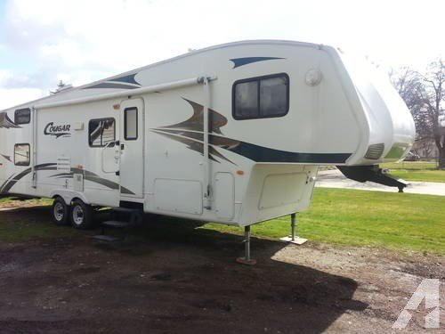 Best 07 Cougar 314Bhs 2 Bedroom Rear Bunk House 5Th Wheel Great With Pictures