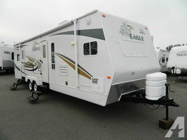Best 2007 Eagle 32 Travel Trailer Front Kitchen Rear Bedroom With Pictures