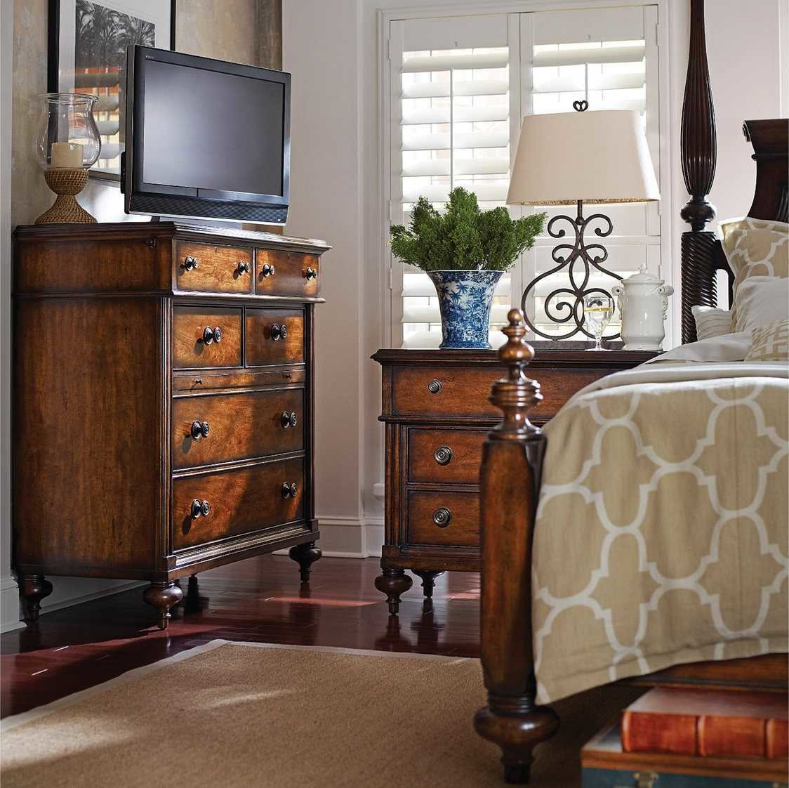 Best Stanley Furniture British Colonial Bedroom Set 020 63 42Set With Pictures