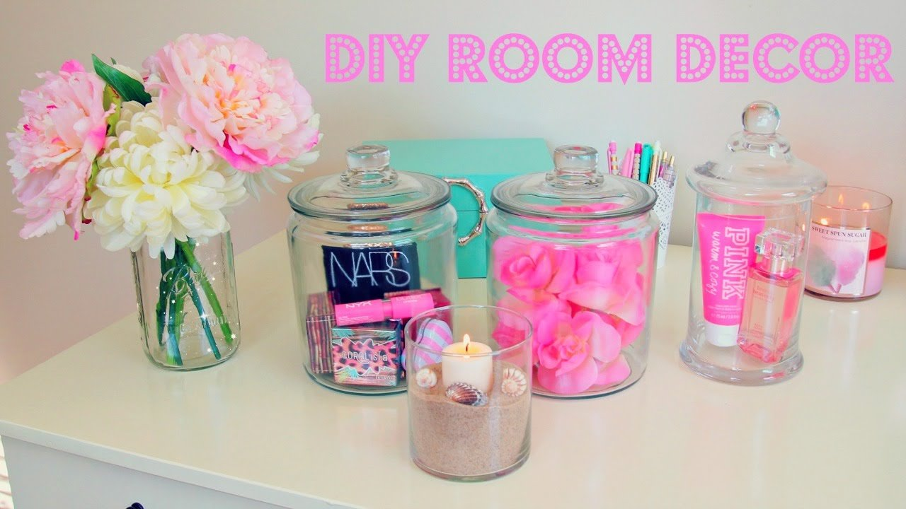 Best Diy Room Decor Inexpensive Room Decor Ideas Using Jars Youtube With Pictures